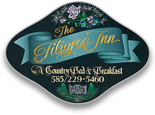 1792 Filigree Inn Bed & Breakfast – Canandaigua, NY Logo