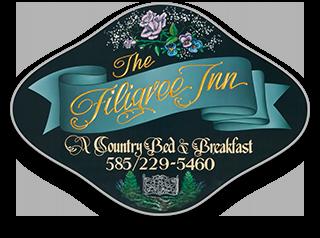 1792 Filigree Inn Bed & Breakfast – Canandaigua, NY Logo