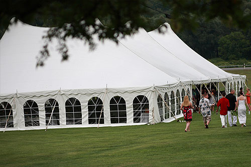 Finger Lakes B&B Wedding Tent
