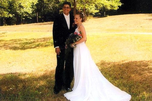 Finger Lakes B&B Bride and Groom