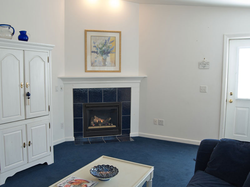 The Madigan Suite Fireplace