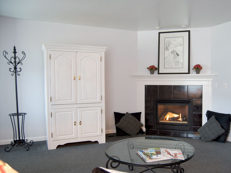 The Skylar Suite Fireplace